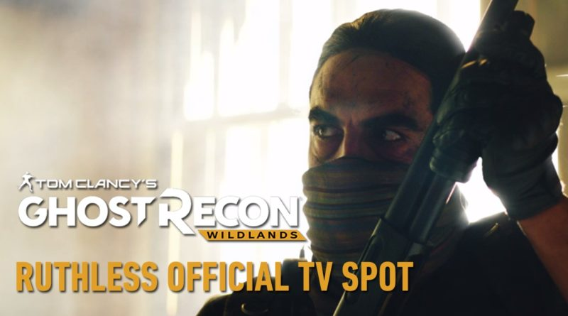 ghost recon wildlands spot tv