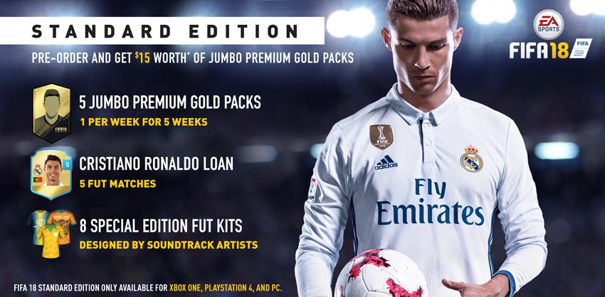 FIFA 18 DEMO edycja standardowa