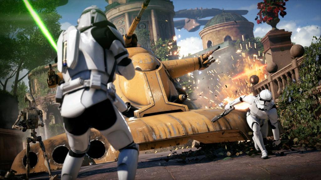 Star Wars Battlefront 2 open beta wrażenia