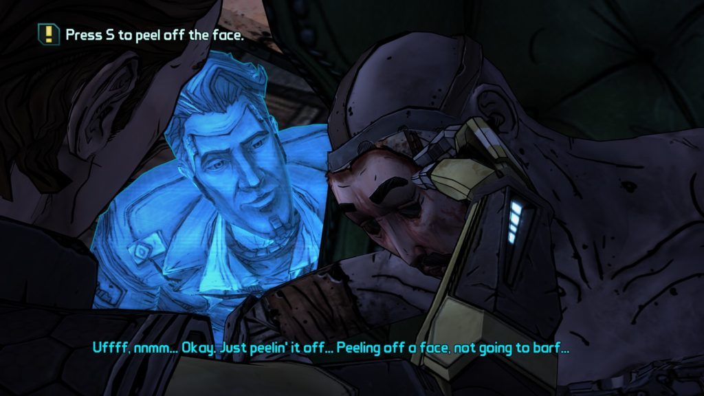Tales from the Borderlands horror