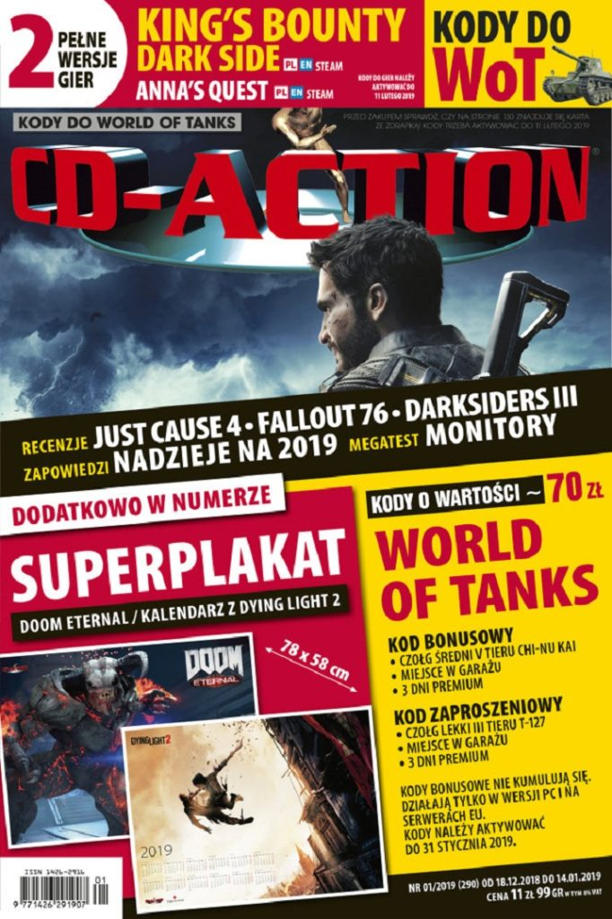 cd-action kody dowot