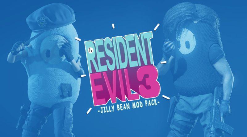 Fall Guys - resident evil