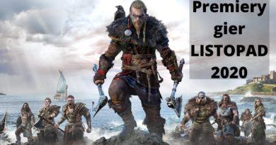 Premiery gier – LISTOPAD 2020
