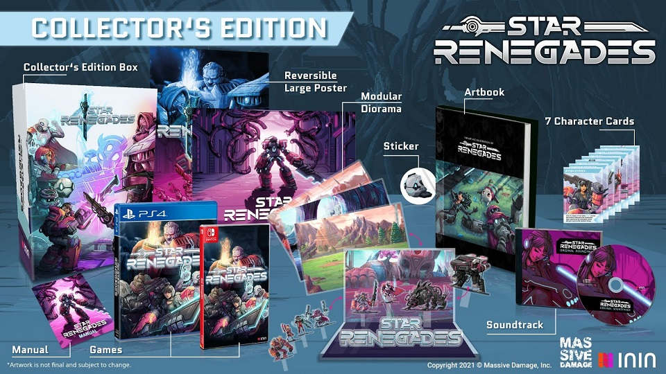 Star Renegades kolekcjonerka