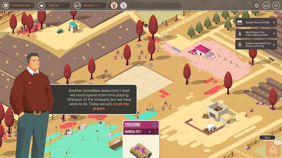 hundred days winemaking simulator recenzja